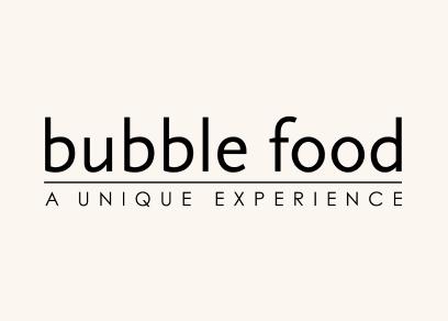 Bubble food - a unique experience