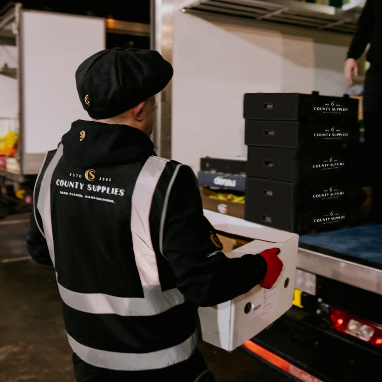 Our Fresh Fruit and Vegetable Delivery Process - County Supplies London